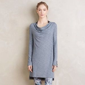 Anthropologie Cowlneck Tunic